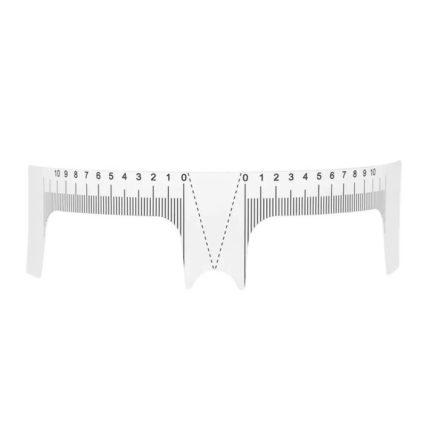Disposable flexible Eyebrow Microblading Ruler