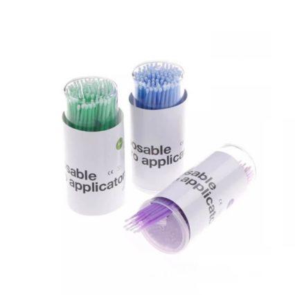 Disposable Micro Applicators 100 Pcs