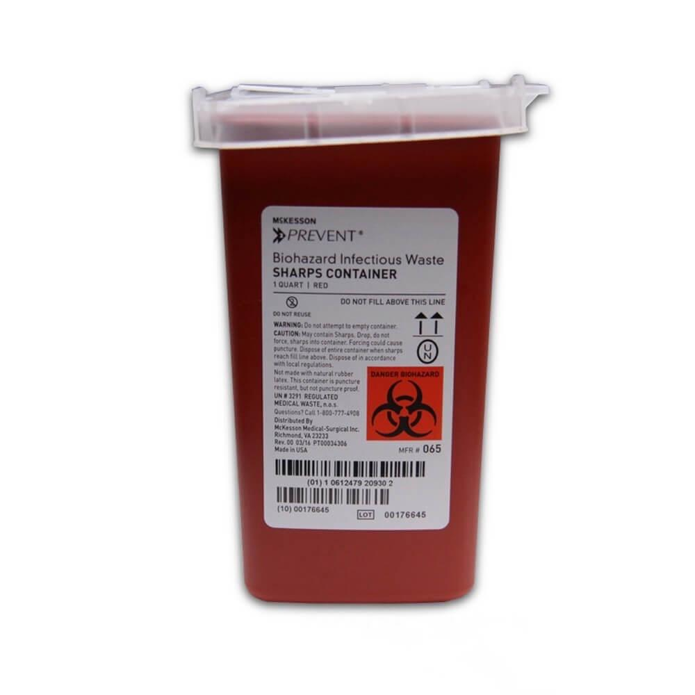 Biohazard Infectious Waste Sharp Container