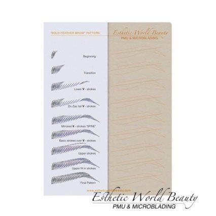 Bold Feather Brow Pattern 5 Pcs