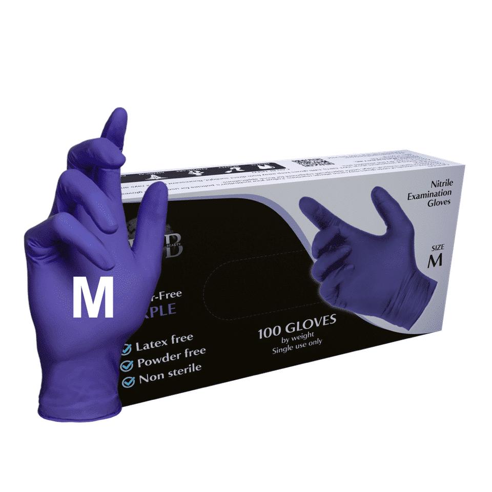M (Medium) Purple 100 Pcs