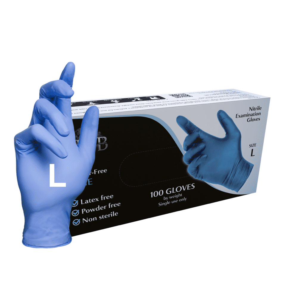 L (Large) Blue 100 Pcs