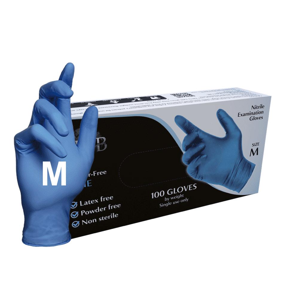 M (Medium) Blue 100 Pcs