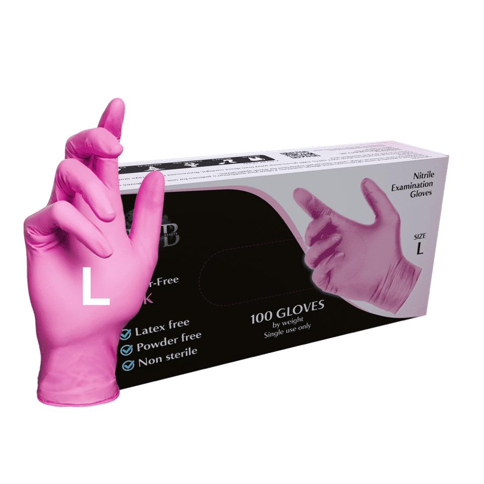 L (Large) Pink 100 Pcs