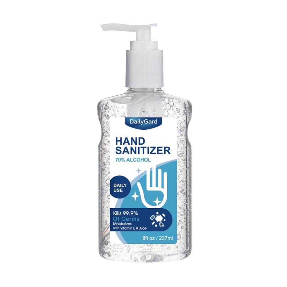 DailyGard Hand Sanitizer Bottle w/ Pump vitamin wholesale sanitizers cheap bulk buy online amazon ebay best