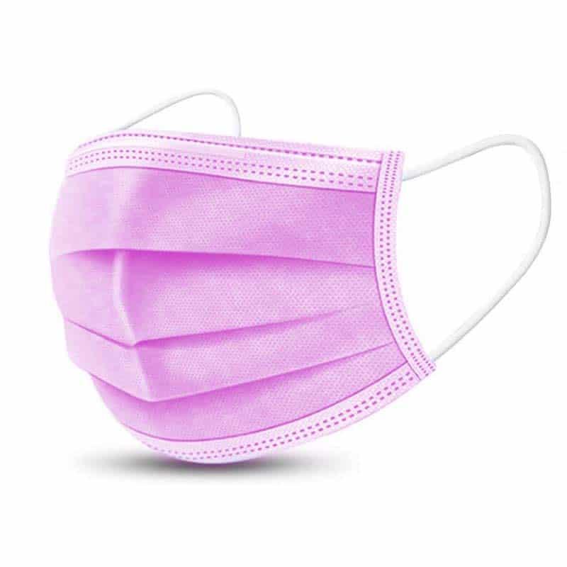 Pink 50 Pcs - Individually Wrapped (Box)