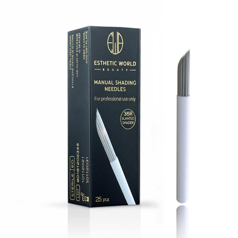 36R Slanted Shader needle