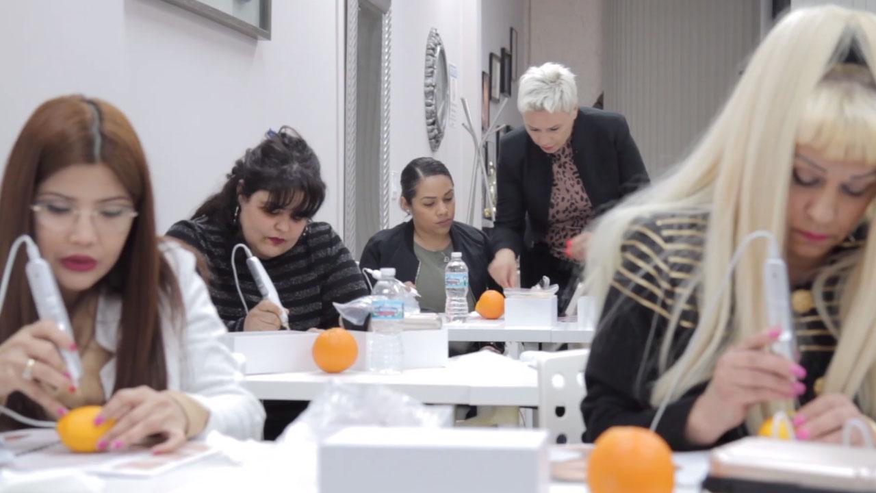 Plasma Pen Fibroblast Skin Tightening Class Training Best Chicago Illinois USA Online
